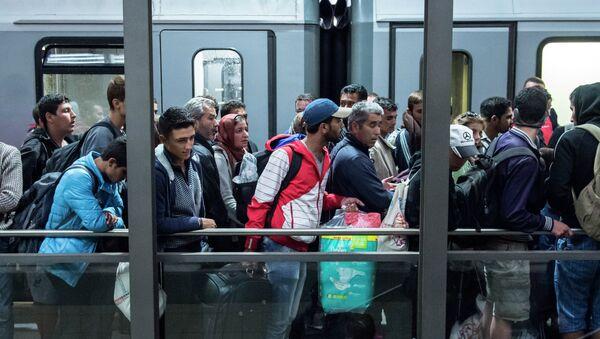 Migranti - Sputnik Česká republika