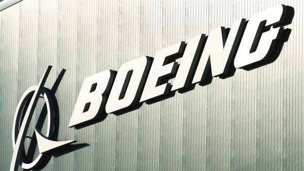 Logo společnosti  Boeing  - Sputnik Česká republika
