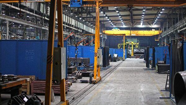 Завод словацкой компании по производству строительной и погрузочно-разгрузочной техники PPS Group - Sputnik Česká republika