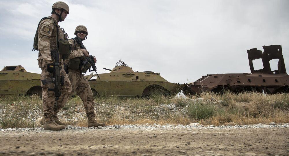 Česká armáda hlídá oblast poblíž letecké základny Bagrám v Afghánistánu