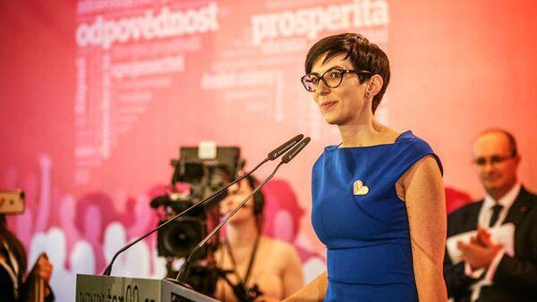 Předsedkyně strany TOP 09 Markéta Pekarová Adamová  - Sputnik Česká republika