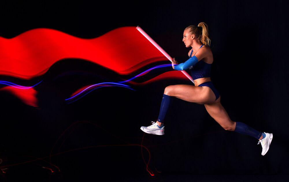 Americká skokanka o tyči Sandi Morrisová.
