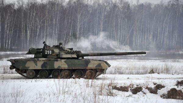 Ruský tank T-80 - Sputnik Česká republika