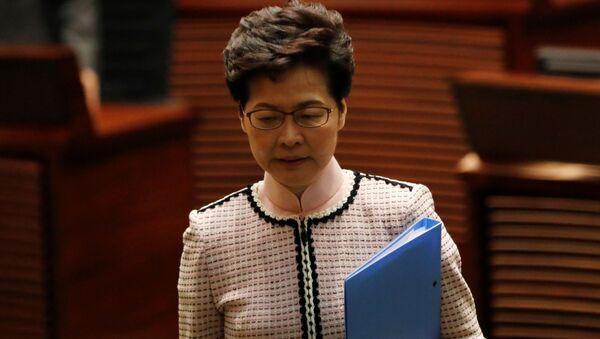 Správkyně Hongkongu Carrie Lamová - Sputnik Česká republika