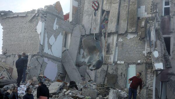 Následky zemětřesní v Albánii (26. listopadu 2019) - Sputnik Česká republika
