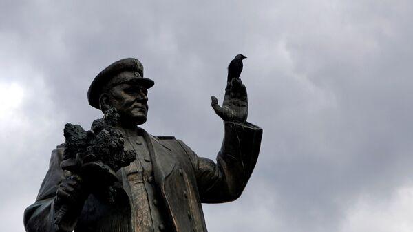 Pomník maršála Koněva v Praze - Sputnik Česká republika