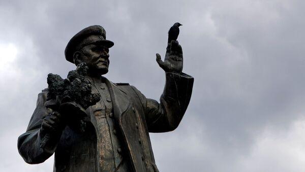 Памятник маршалу Коневу в Праге - Sputnik Česká republika