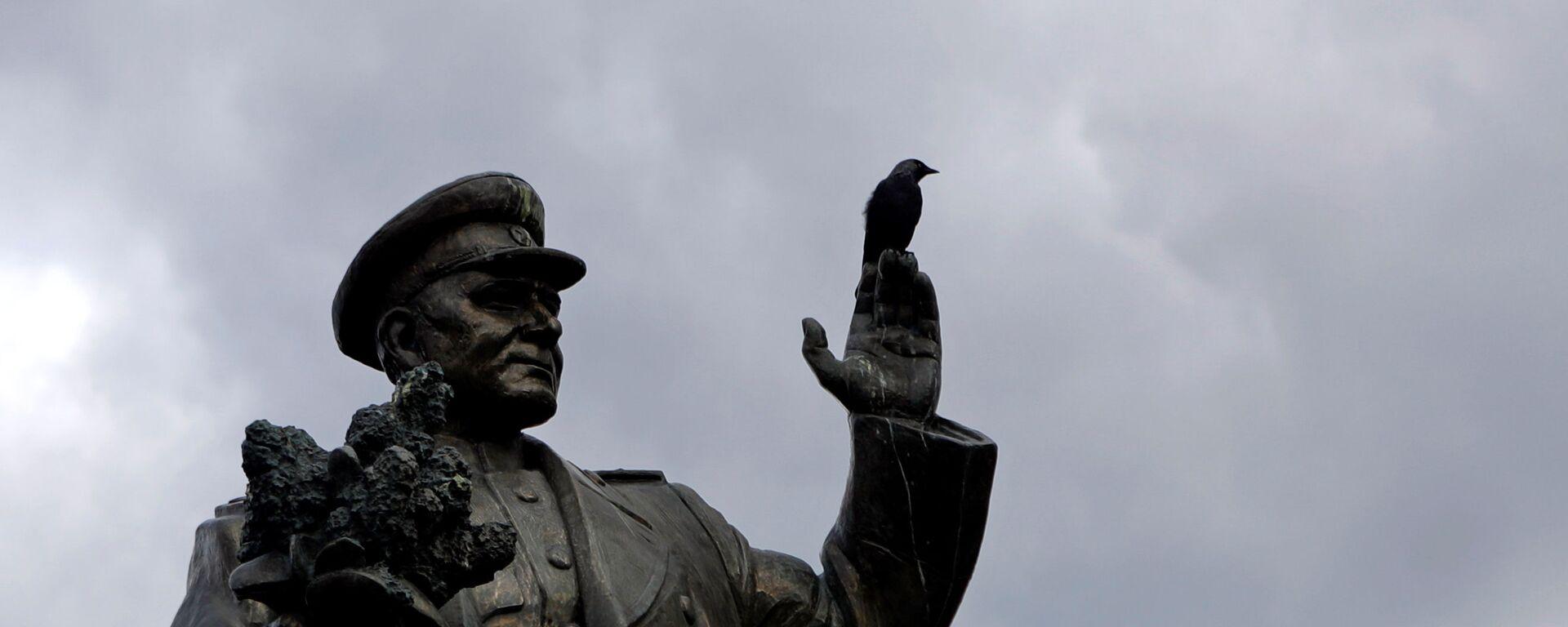 Socha maršala Koněva, která dříve stála v Praze-6. Archivní foto - Sputnik Česká republika, 1920, 21.09.2020