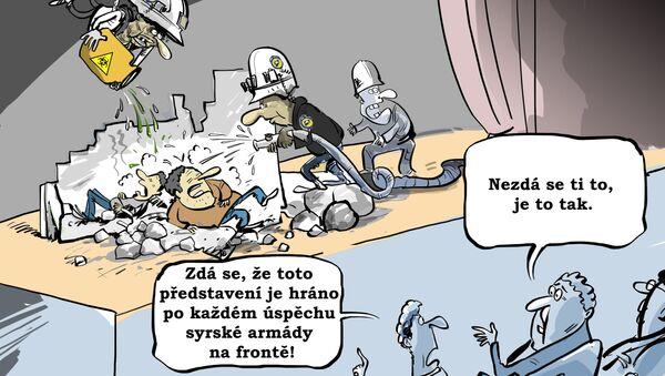 Bílé přilby dostaly objednávku na koncert  - Sputnik Česká republika