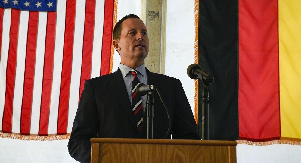 Americký velvyslanec v Německu Richard Grenell
