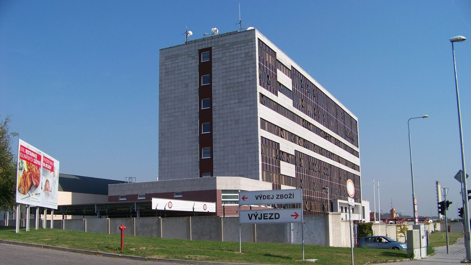 Budova BIS - Sputnik Česká republika, 1920, 02.05.2021