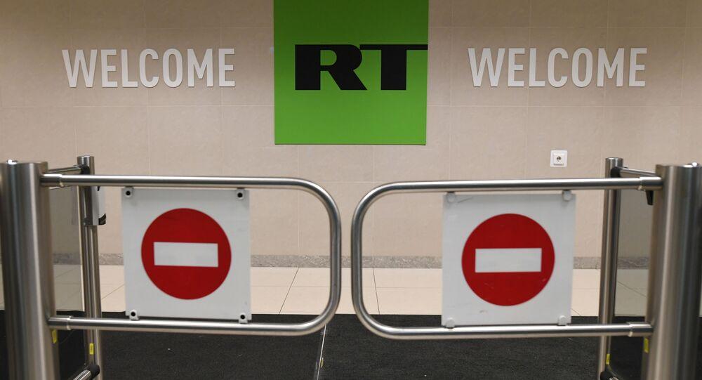 Kancelář RT v Moskvě