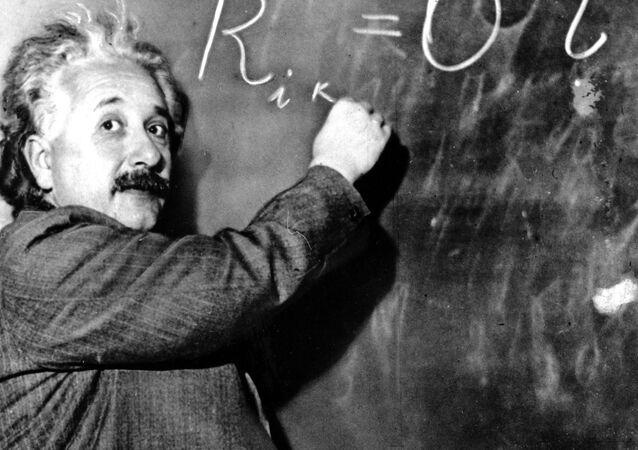 Albert Einstein v roce 1931