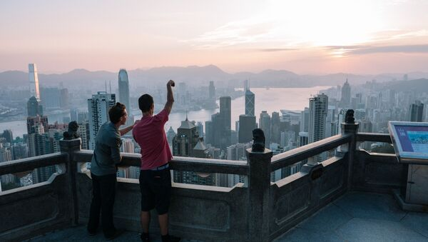 Výhled na Hongkong - Sputnik Česká republika