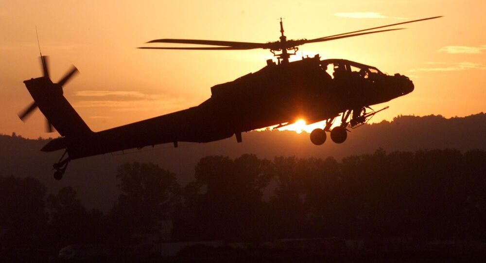 Útočný vrtulník AH-64 Apache