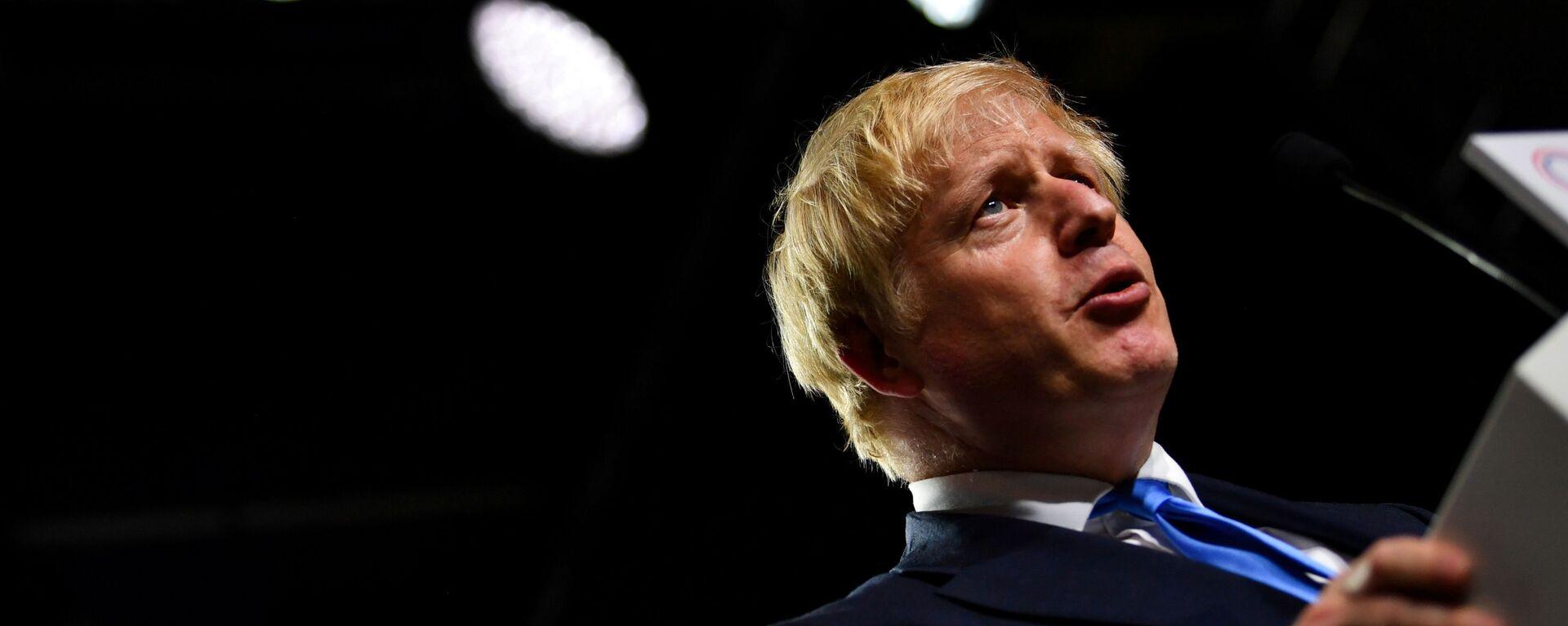 Britský premiér Boris Johnson - Sputnik Česká republika, 1920, 25.05.2021