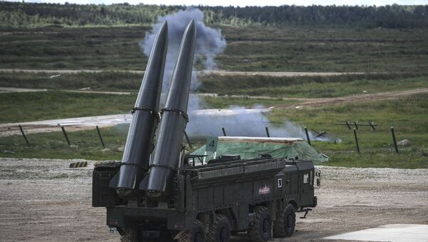 Raketový komplex Iskander-M - Sputnik Česká republika