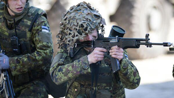Cvičení NATO v Estonsku - Sputnik Česká republika