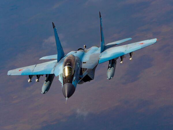 Čtvrtá generace ruských víceúčelových stíhacích letounů MiG-29K - Sputnik Česká republika