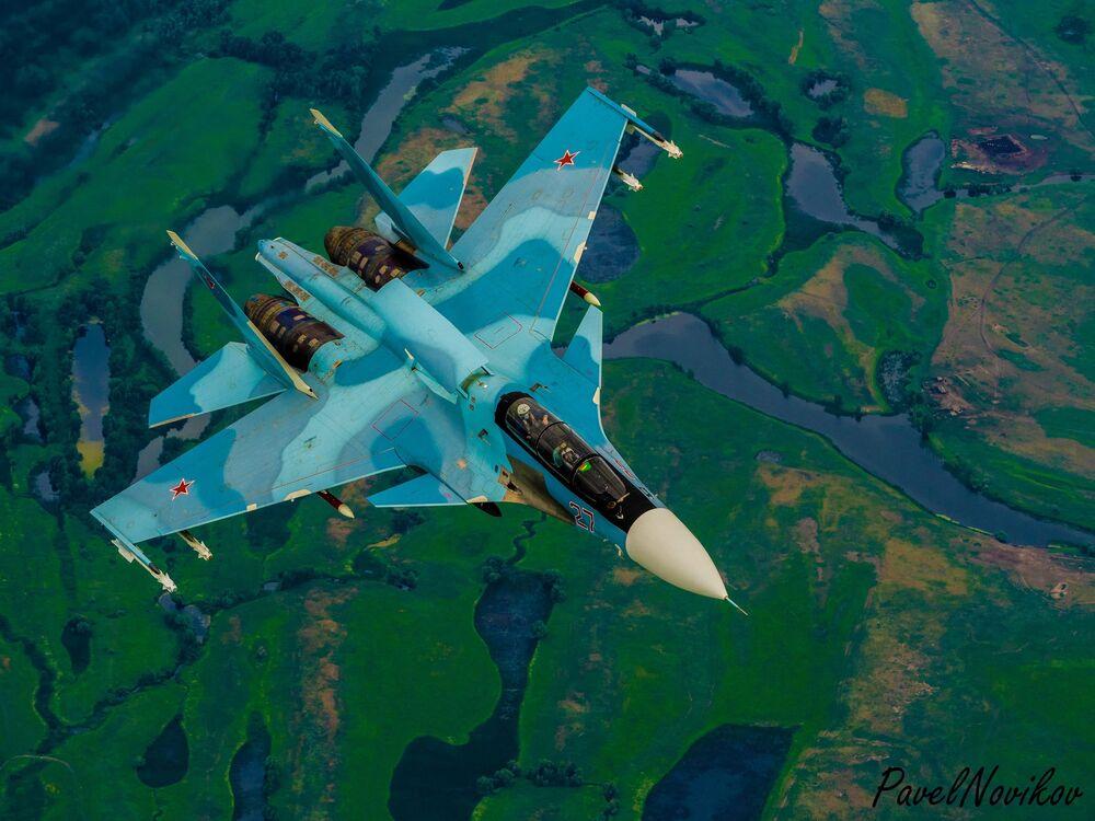 Ruská víceúčelová dvoumístná stíhačka generace 4+ Su-30