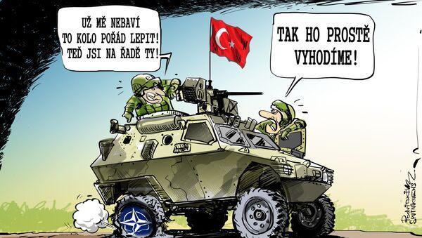 NATO jako páté kolo u tureckého vozu - Sputnik Česká republika