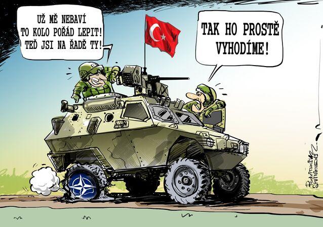 NATO jako páté kolo u tureckého vozu