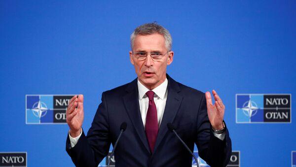 Generální tajemník NATO Jens Stoltenberg v Bruselu (20. listopadu 2019) - Sputnik Česká republika