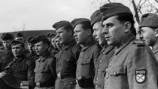 Vojáci Ruské osvobozenecké armády ROA  - Sputnik Česká republika