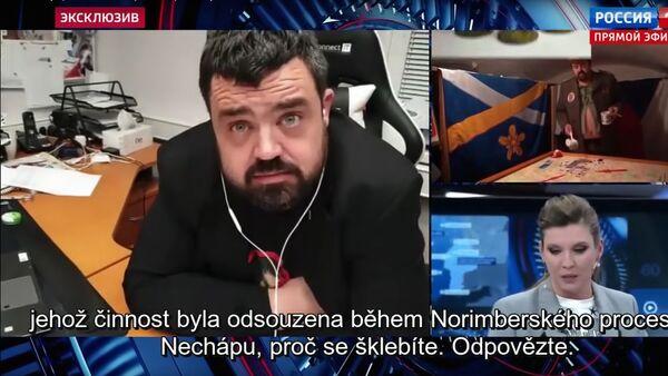 Pavel Novotný v televizním pořadu 60 minut - Sputnik Česká republika