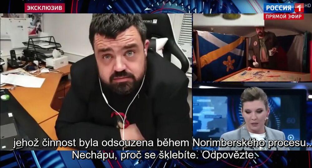 Pavel Novotný v televizním pořadu 60 minut