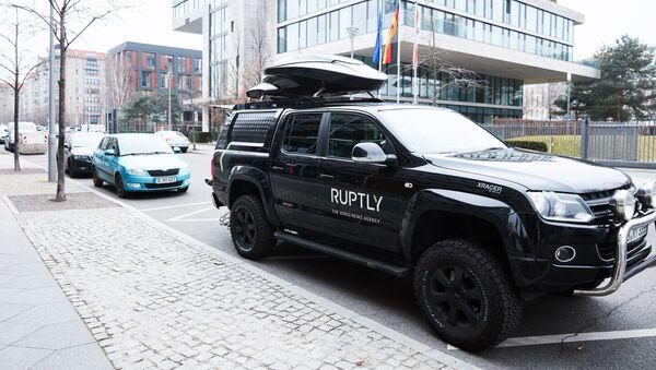Automobil videoagentury Ruptly. Ilustrační foto - Sputnik Česká republika