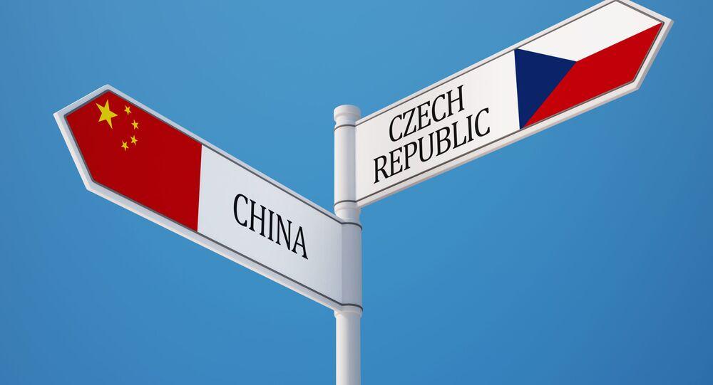Čína a Česká republika