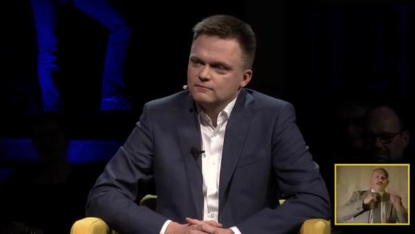 Szymon Hołownia - Sputnik Česká republika