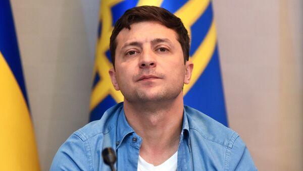 Ukrajinský prezident Volodymyr Zelenskyj - Sputnik Česká republika