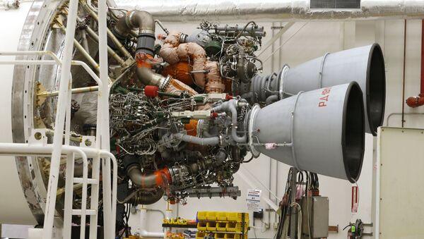 Motory RD-181 na raketě Antares ve kosmickém přístavu Wallops - Sputnik Česká republika