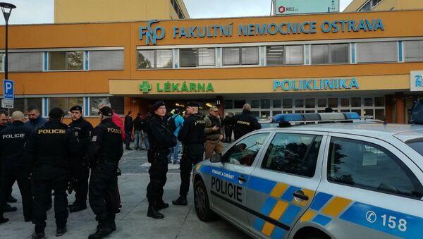 V ostravské fakultní nemocnici se střílelo - Sputnik Česká republika