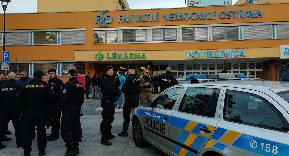V ostravské fakultní nemocnici se střílelo