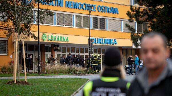 Střelba v ostravské nemocnici - Sputnik Česká republika