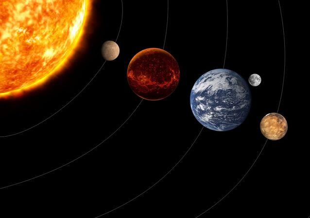 Planety. Ilustrační foto