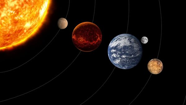 Planety. Ilustrační foto  - Sputnik Česká republika