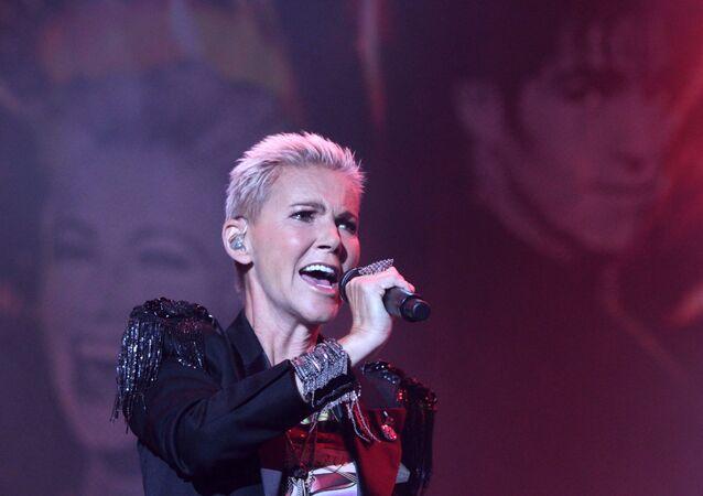 Marie Fredrikssonová na koncertu v Moskvě