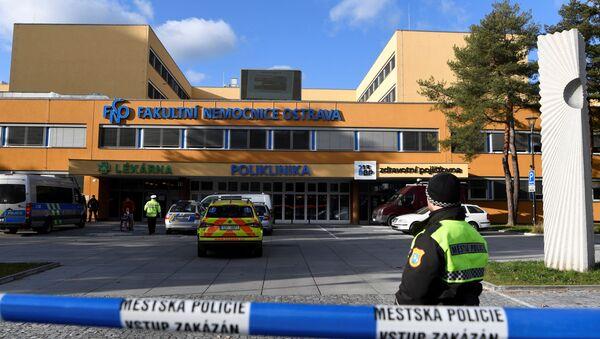 Policie v nemocnici v Ostravě - Sputnik Česká republika