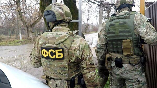 Příslušníci FSB v Rusku - Sputnik Česká republika