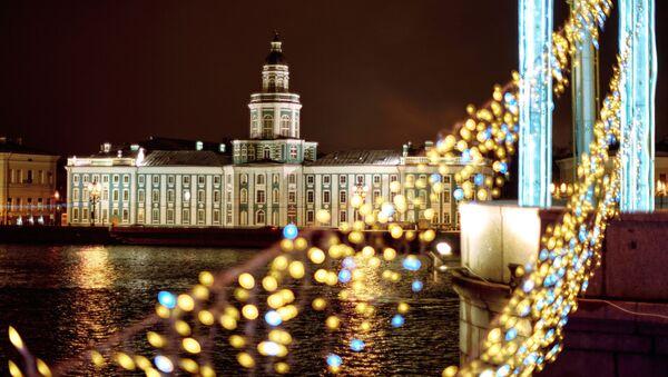 Kouzelný Petrohrad aneb Jak vypadá toto nejseverněji položené velkoměsto před Vánocemi - Sputnik Česká republika