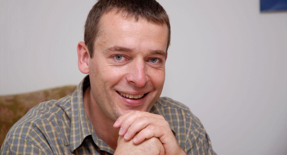 Spoluzakladatel a ředitel neziskové organizace Člověk v tísni Šimon Pánek