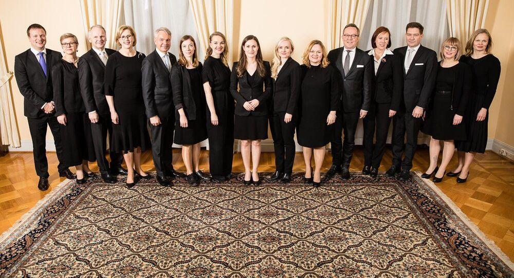 Nové složení finské vlády
