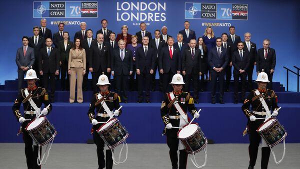 Lídři členských států NATO na summitu v Londýně - Sputnik Česká republika