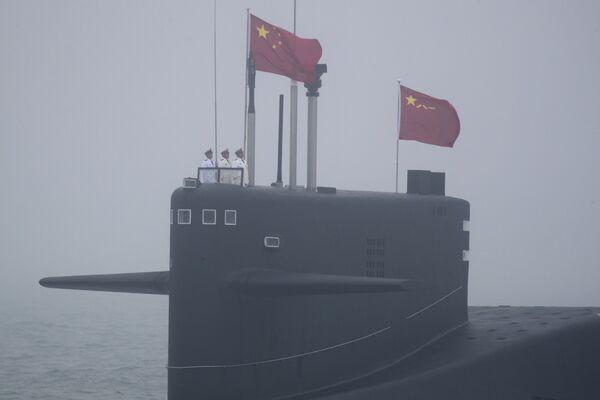 Čínská ponorka 094 Long March 15 - Sputnik Česká republika