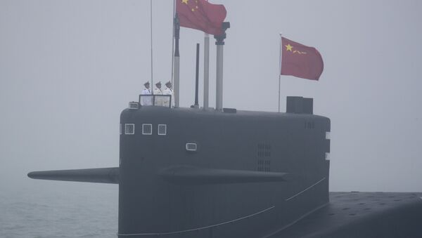 Čínská ponorka projektu 094 Long March 15 - Sputnik Česká republika