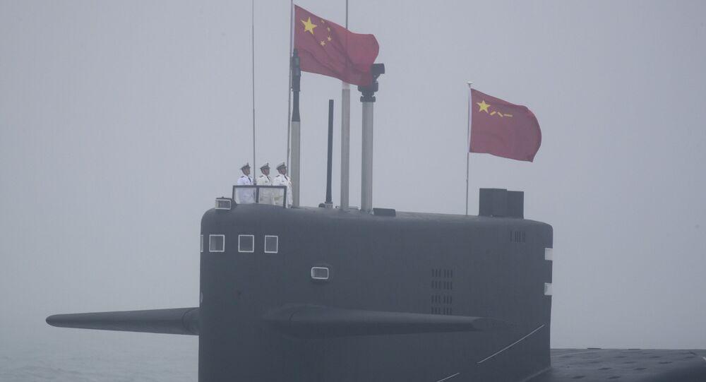 Čínská ponorka projektu 094 Long March 15